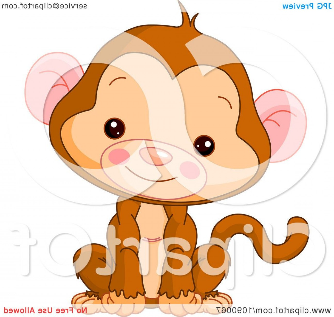 Sitting Monkey Vector Baby Shower: Images Of Sitting Monkey Vector Baby Shower Download