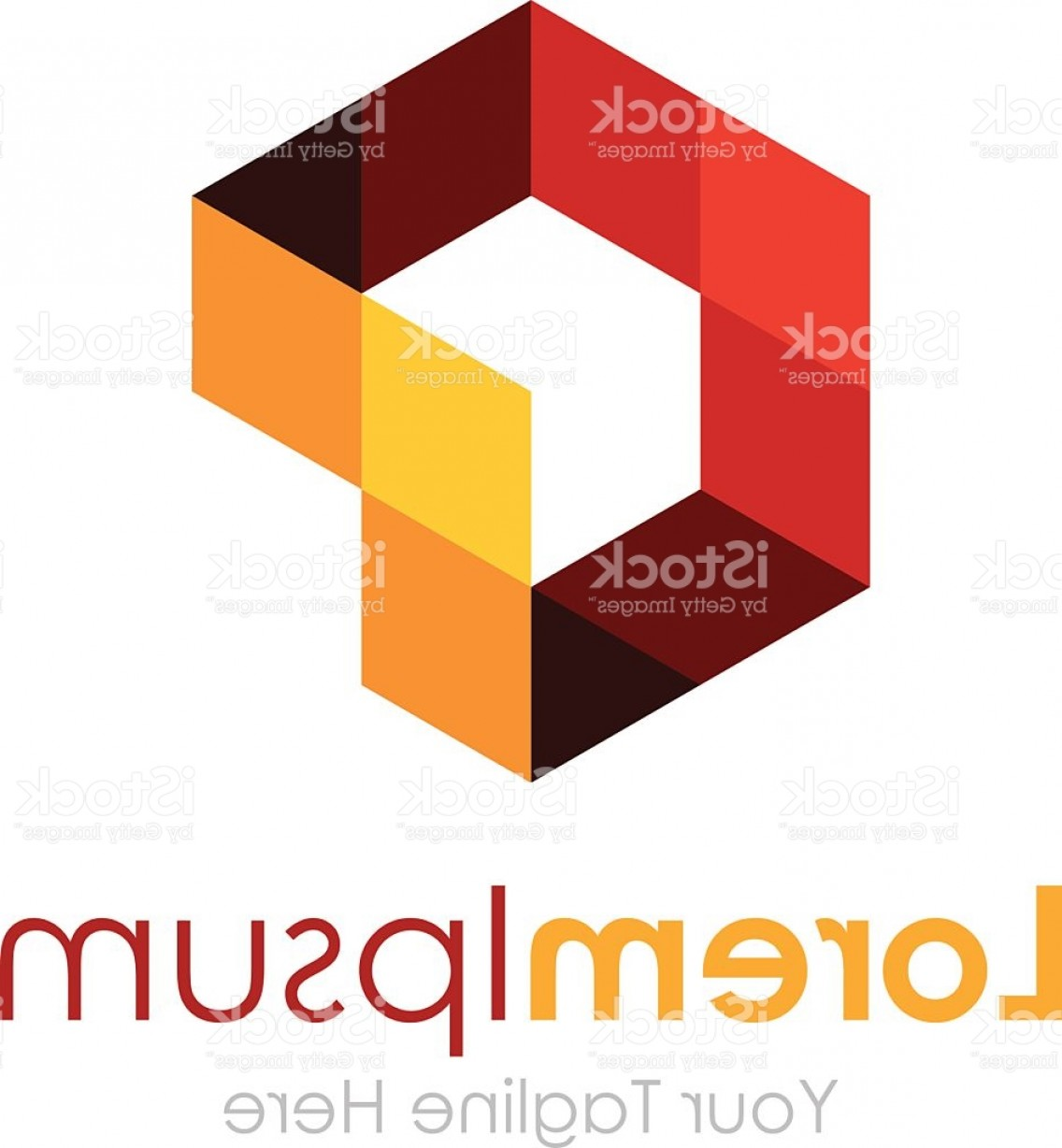 Absract Shape Logo Vector: Imagination Abstract Shape Pixel Element Icon Logo For Business Gm