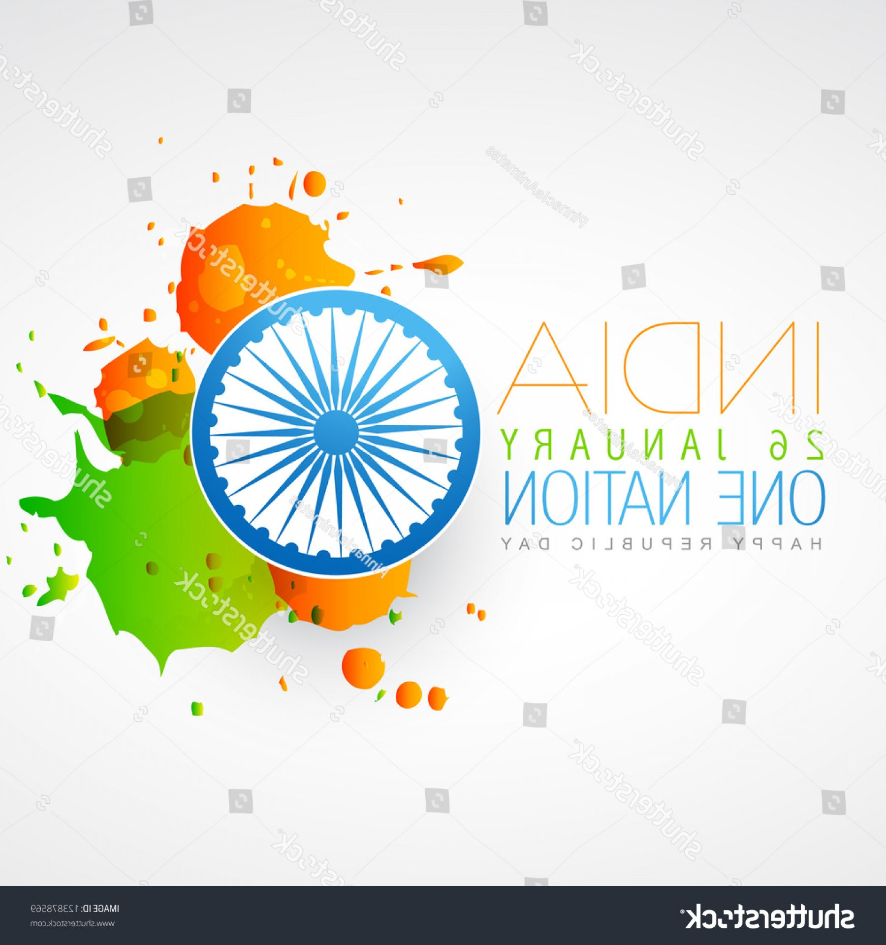 India Flag Vector: Indian Flag Vector Creative Design