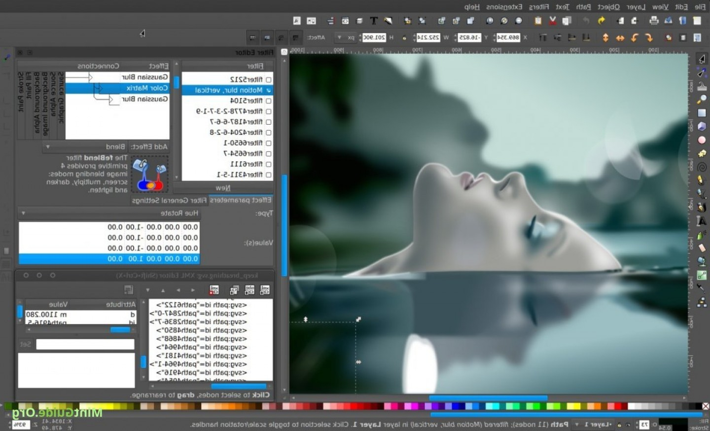 Vector-Based Graphics Software: Inkscape Vector Editor A Free Alternative To Coreldraw