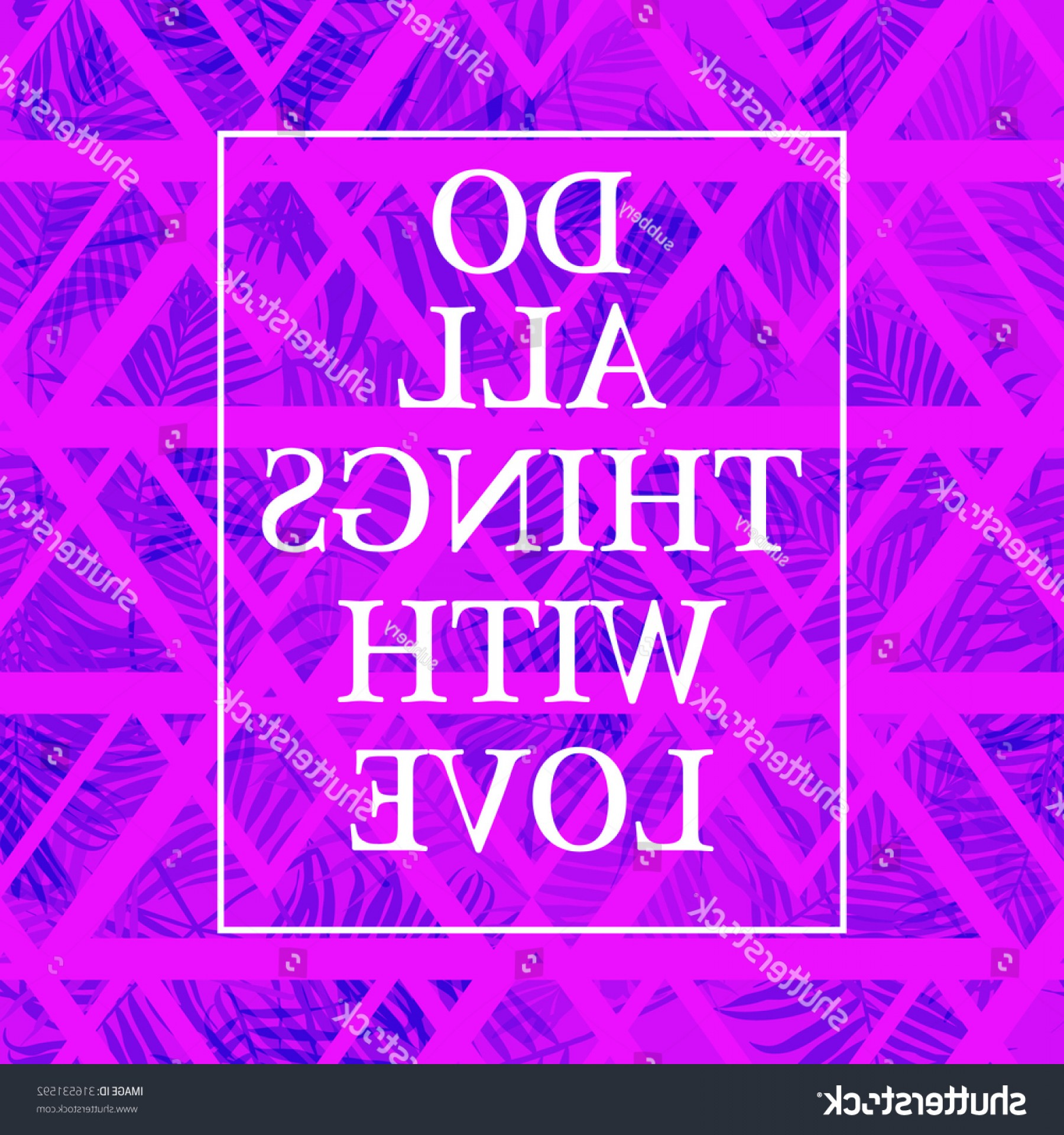 Inspirational Backgrounds Vector: Inspirational Fashion Wallpaper Neon Colored Print