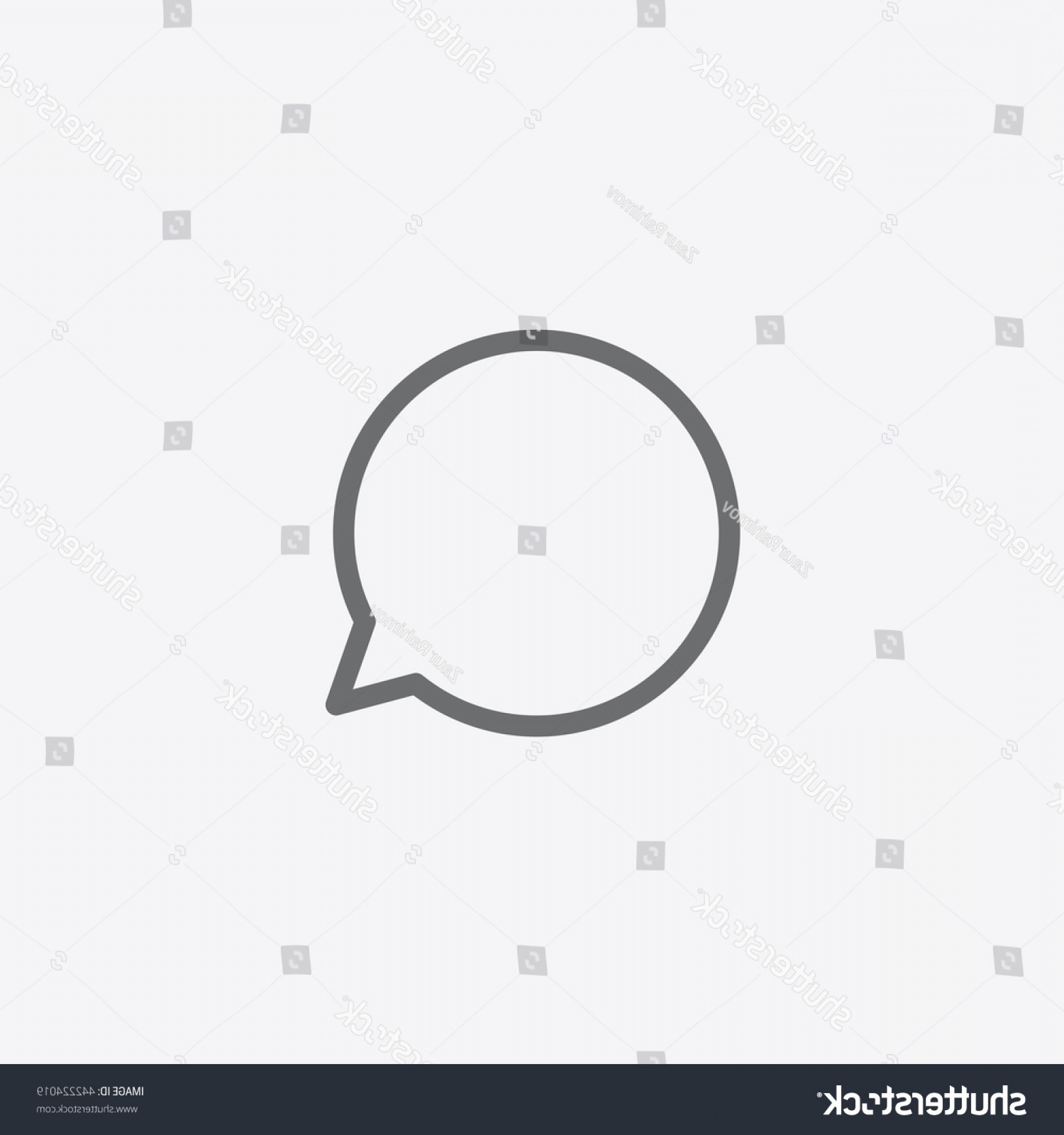 Official Instagram Icon Vector: Instagram Comment Icon Vector Message Sign
