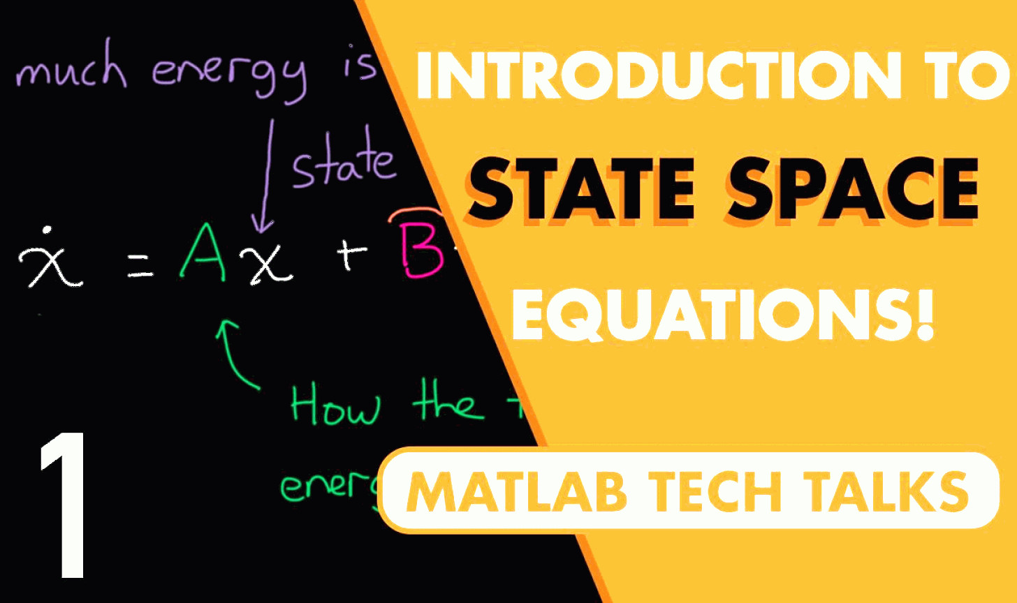 MATLAB Combine Vectors: Introduction To State Space Equations
