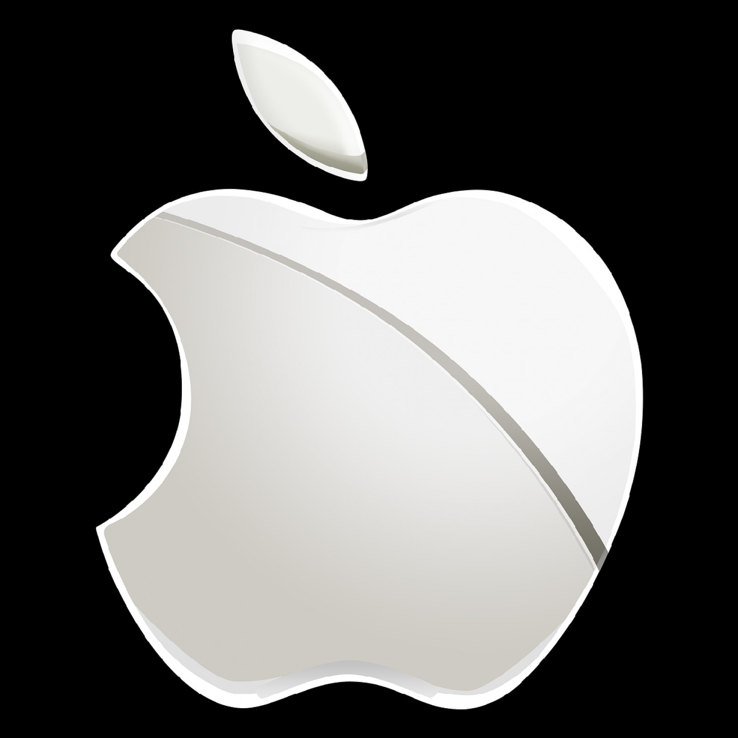 Apple IPhone Logo Vector: Ios Iphone Support Usb Camera Adapter