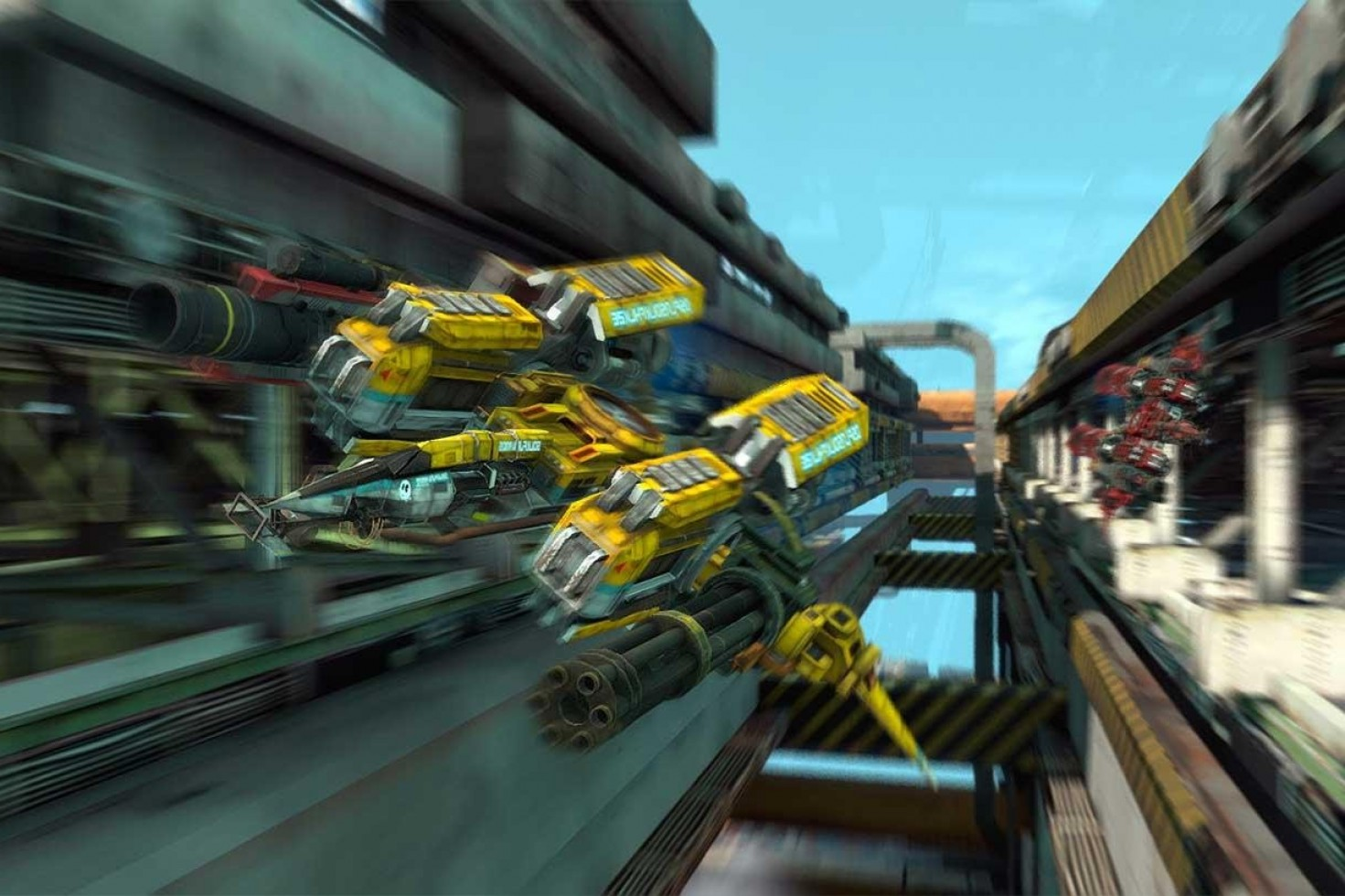 Strike Vector PC: Is This The Best Looking Indie Game Ever Made
