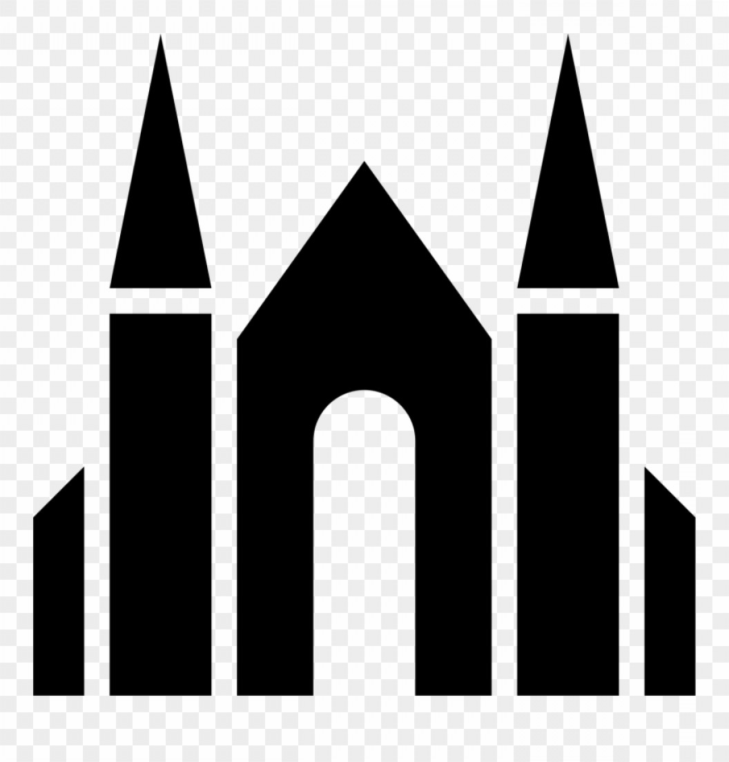 Architecture Vector: Ixoxjxgraphic Library Download Architecture Vector Like Cathedral Icon