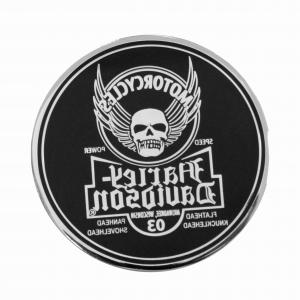 Harley-Davidson Skull Logo Vector: Stock Illustration Motorcycle Ribbon Emblem Design Image