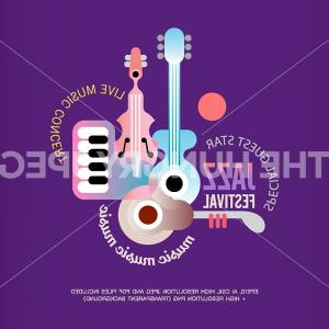 Vector Marketing Posters: Jazz Festival Vector Poster Design