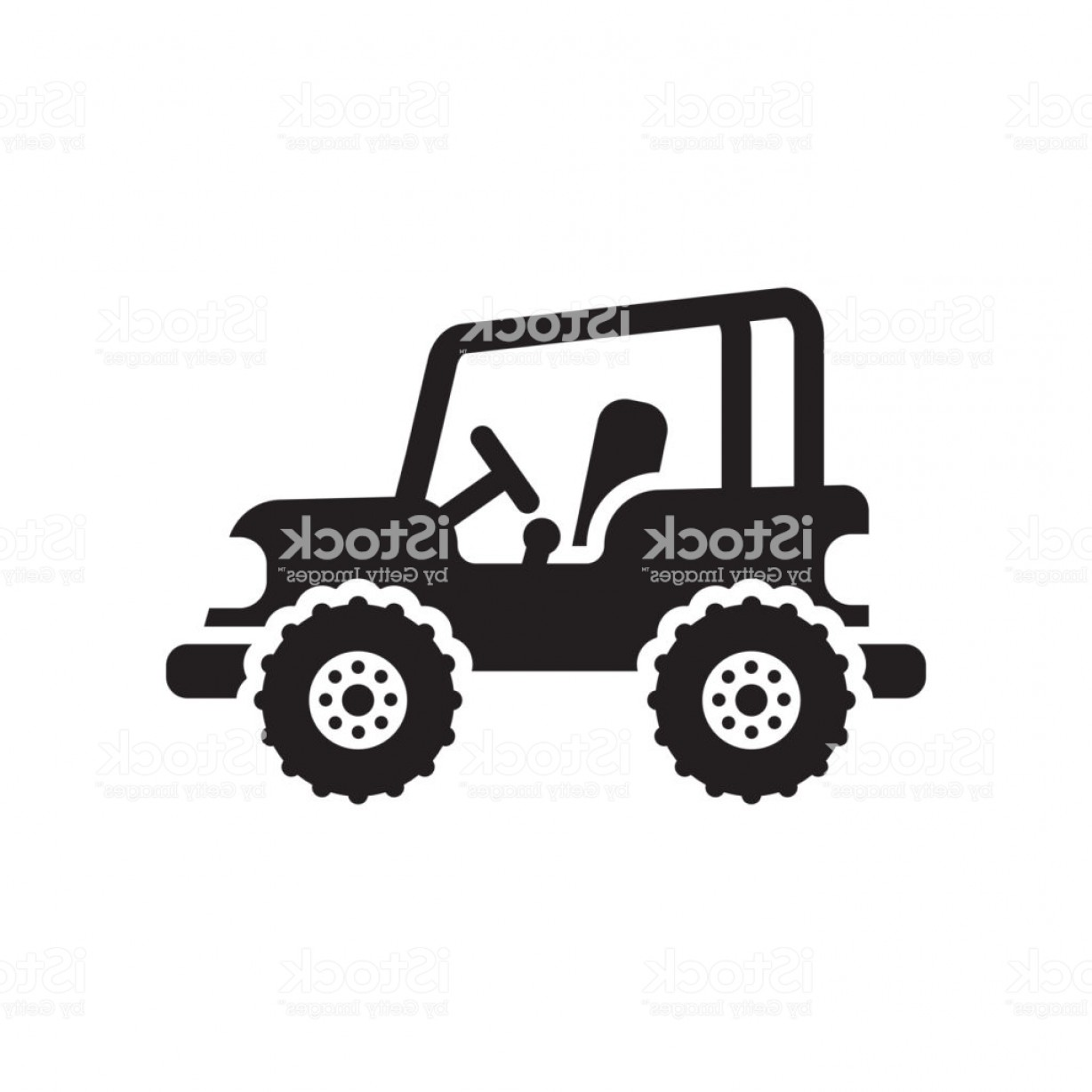 Jeep Tire Vector: Jeep Icon Vector Sign And Symbol Isolated On White Background Jeep Logo Concept Gm