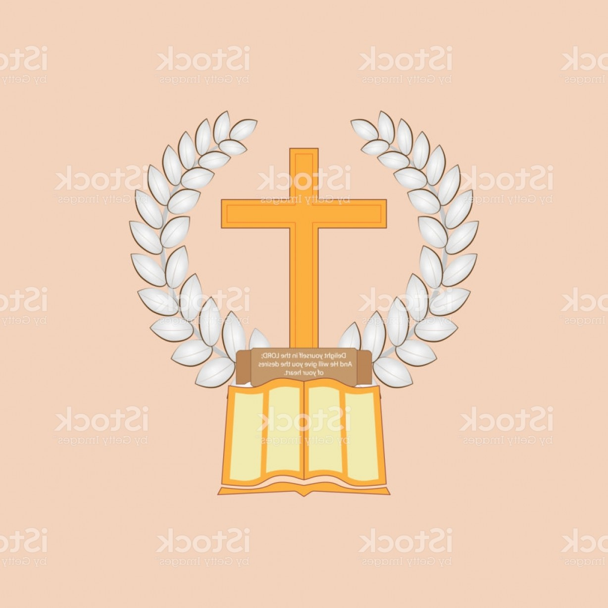 Bread Of Life Vector Art: Jesus Christ Is The Bread Of Life Gm