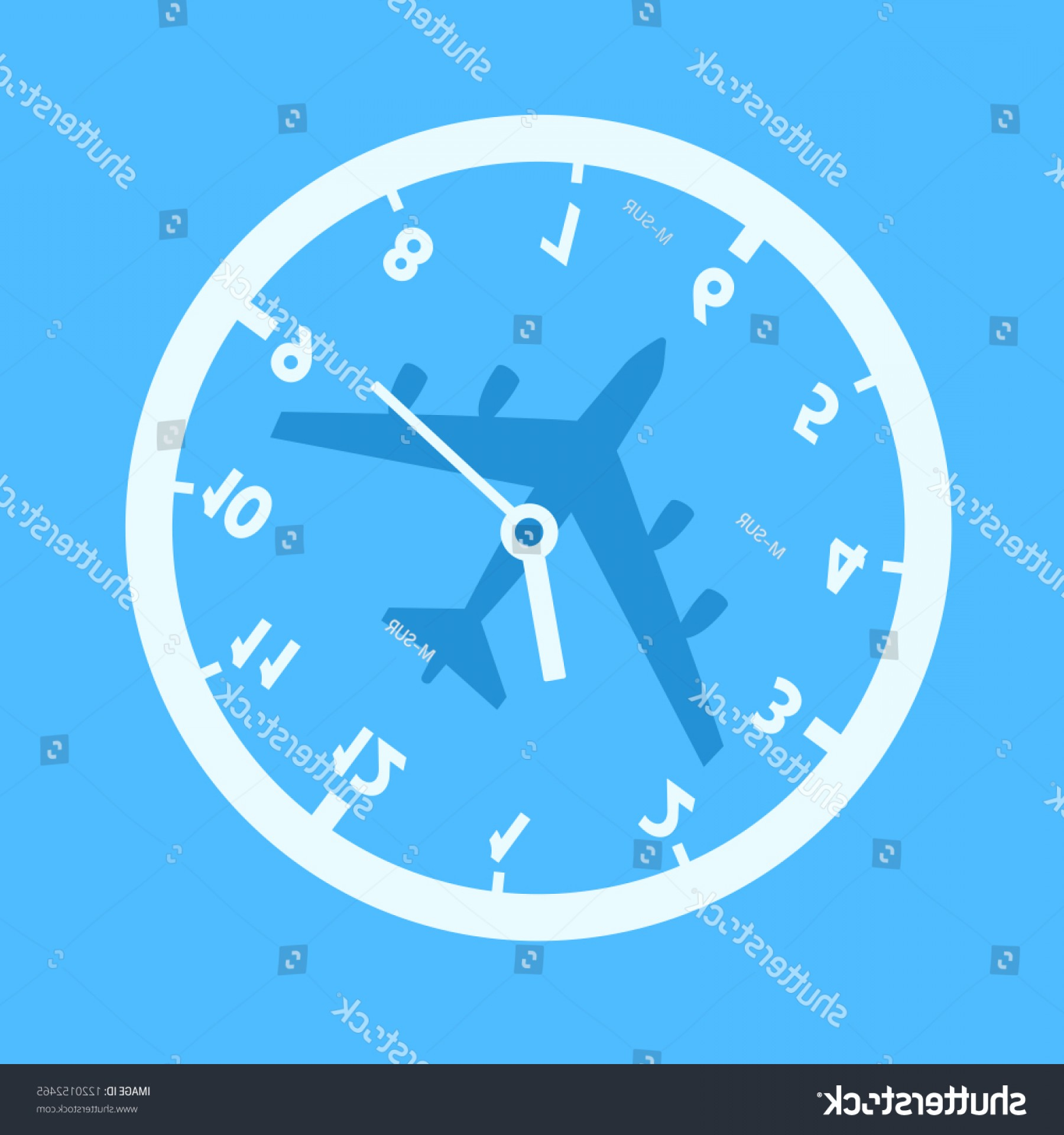 Vector Airplane Problem: Jet Lag Confusion Adn Time Desorientation