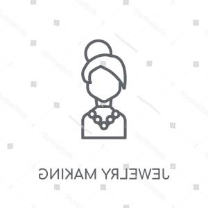 Jewelry Manufacturing Icon Vector: Photostock Vector Jewelry Template Logo For Jewelry Salon Manufacture Of Jewelry Brand Jewelry