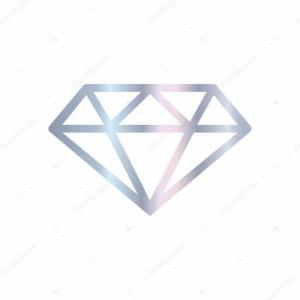 Silver Diamond Vector Banner: Jewelry Shop Diamond Accessories Banner Illustration Vector Silhouette Icons Of Gm