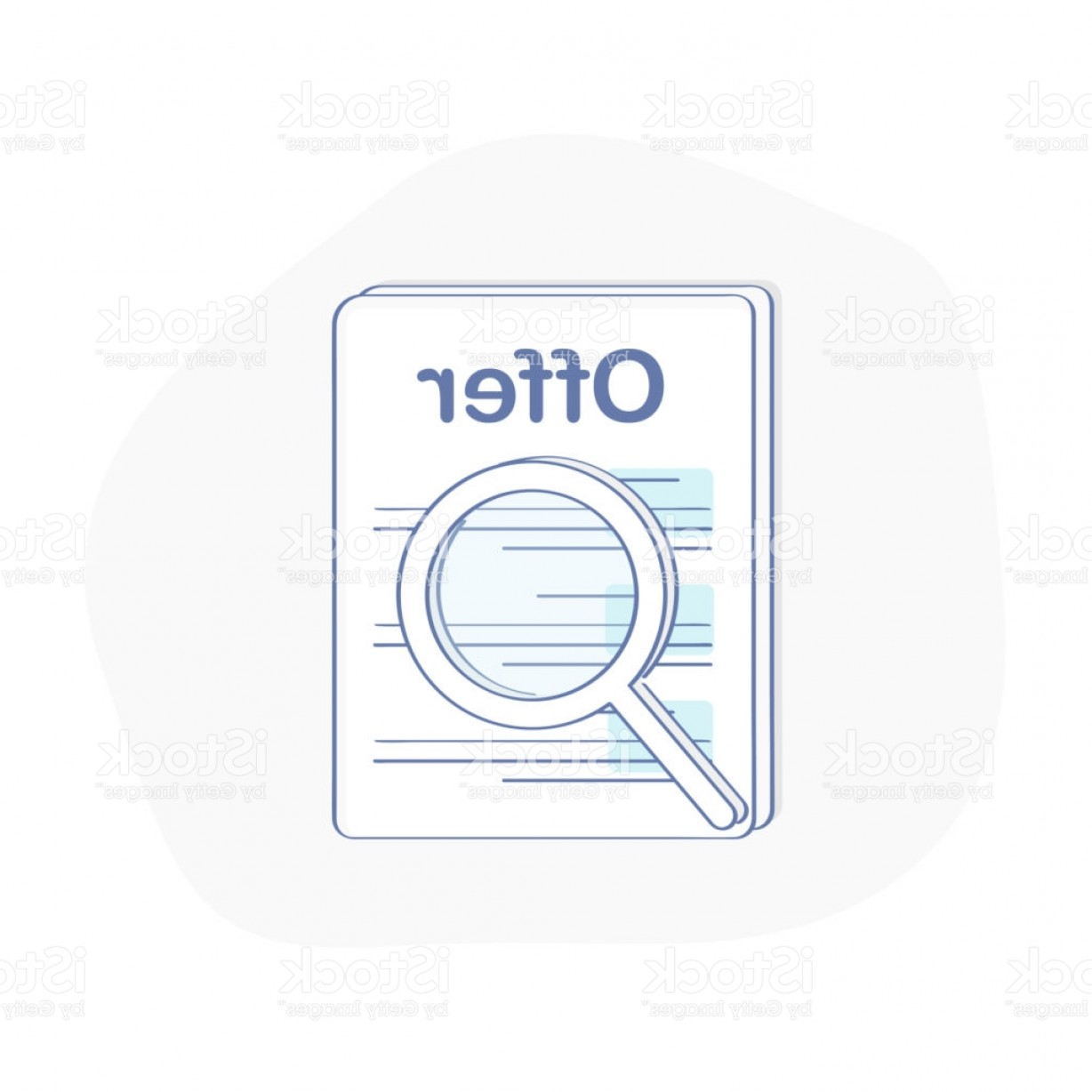 Vector Job Offer: Job Offer Icon Concept Search For Job Recruitment Search Better Candidate Isolated Gm