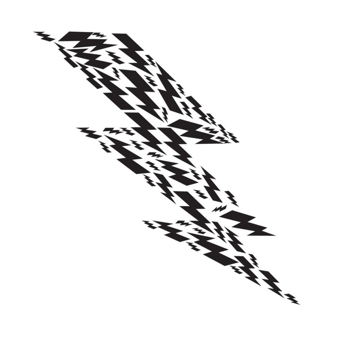 Vector Lightning Bolt Tribe: Job Part Lightning Bolt