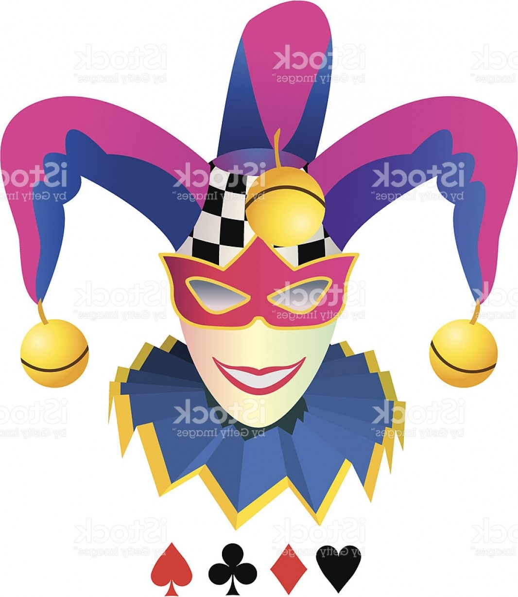 Joker Smile Vector Art: Joker Of Elegant Smile Gm