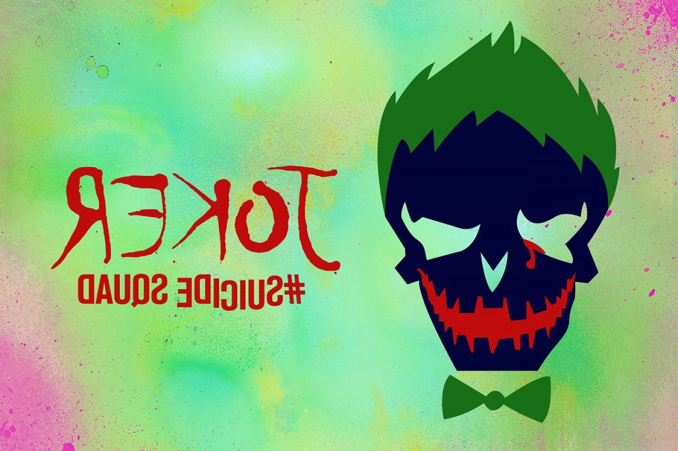 Joker Vector Graphics: Joker Suicide Squad Vector Icon