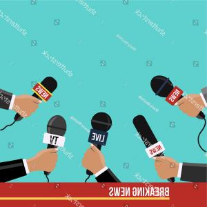 Mics Vector Designs: Journalist Illustration Flat Modern Style Vector Design Food Photos