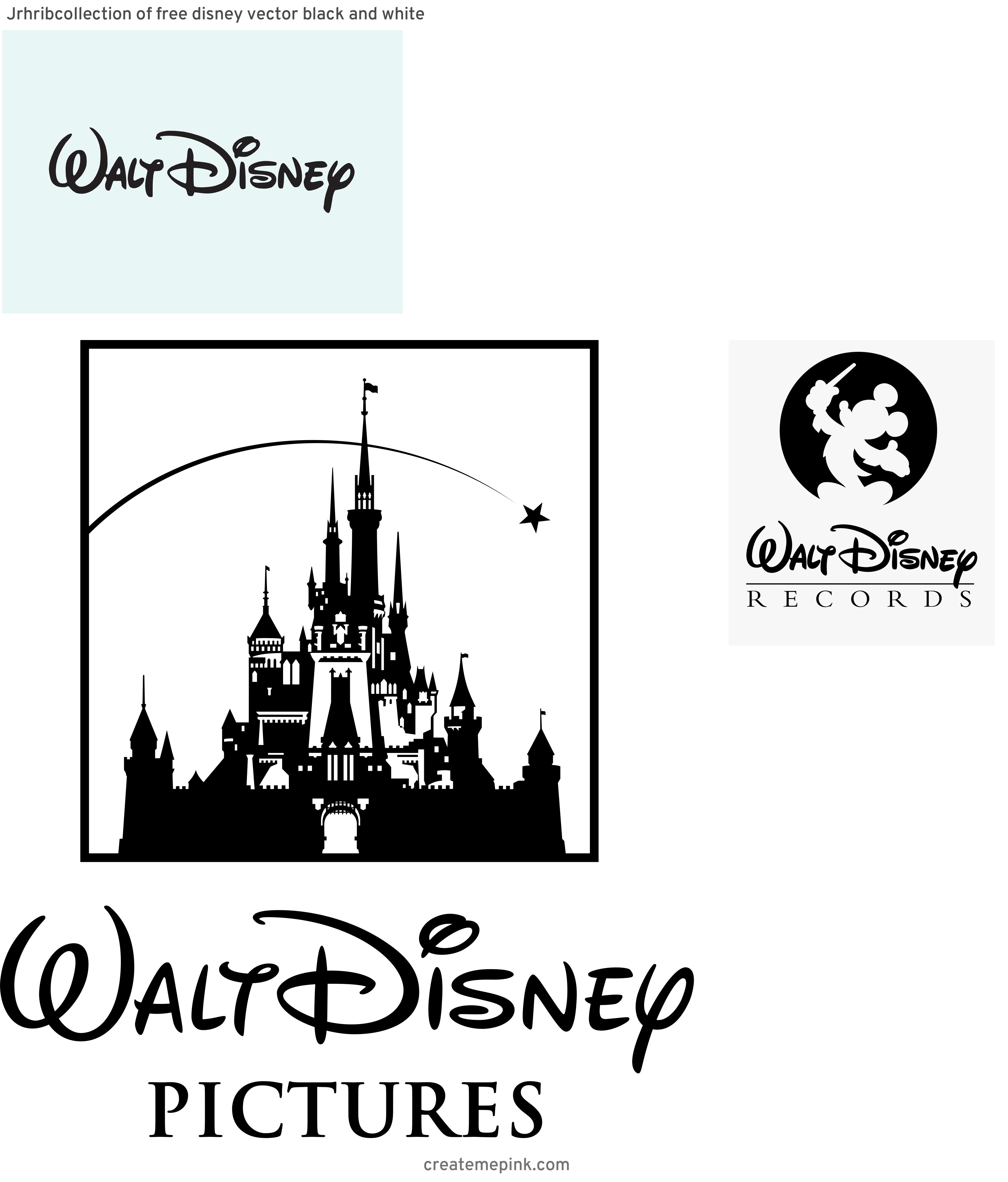 Walt Disney Vector: Jrhribcollection Of Free Disney Vector Black And White