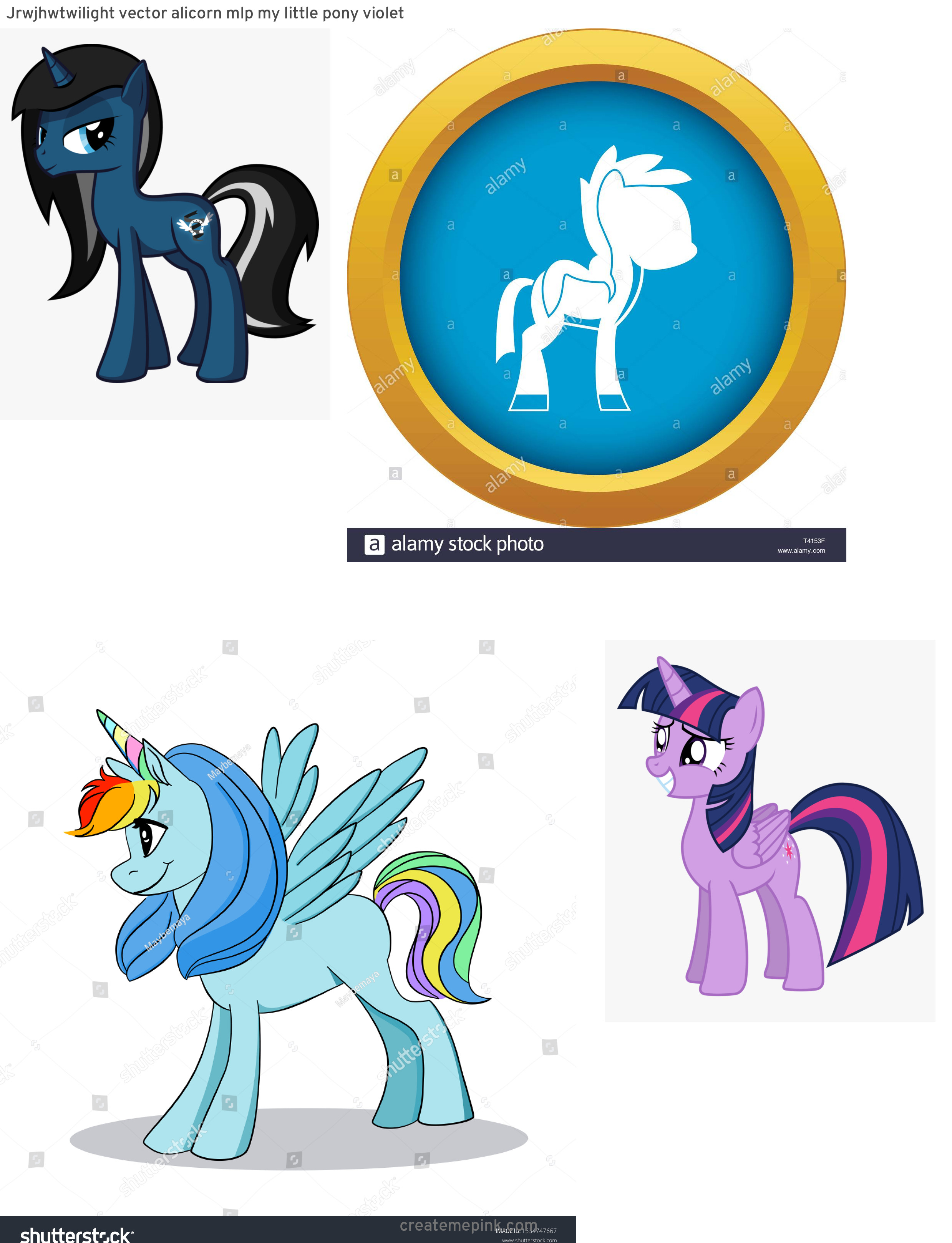 MLP Pony Stallion Vector: Jrwjhwtwilight Vector Alicorn Mlp My Little Pony Violet