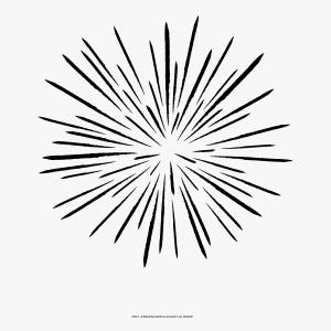 Black And White Fireworks Background Vector Transparent: Jrtiiclip Art Firework Drawing Firework Icon Png White