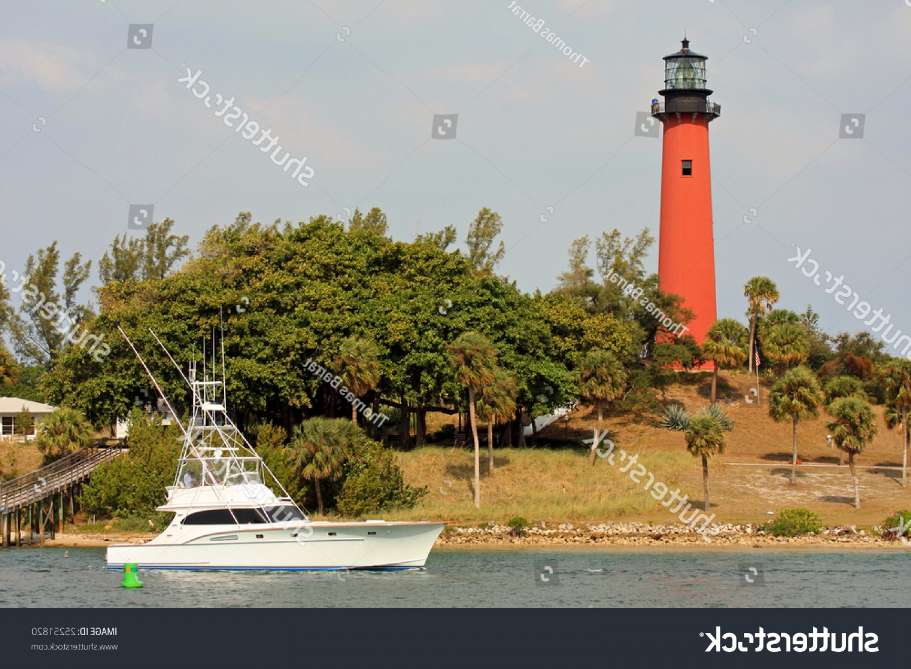 Jupiter Lighthouse Vector: Jupiter Inlet Lighthouse Tequesta Florida