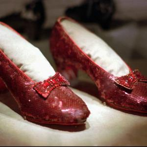 Ruby Red Slippers Vector Art: Judy Garland S Stolen Ruby Slippers From Wizard Of Oz Are Found