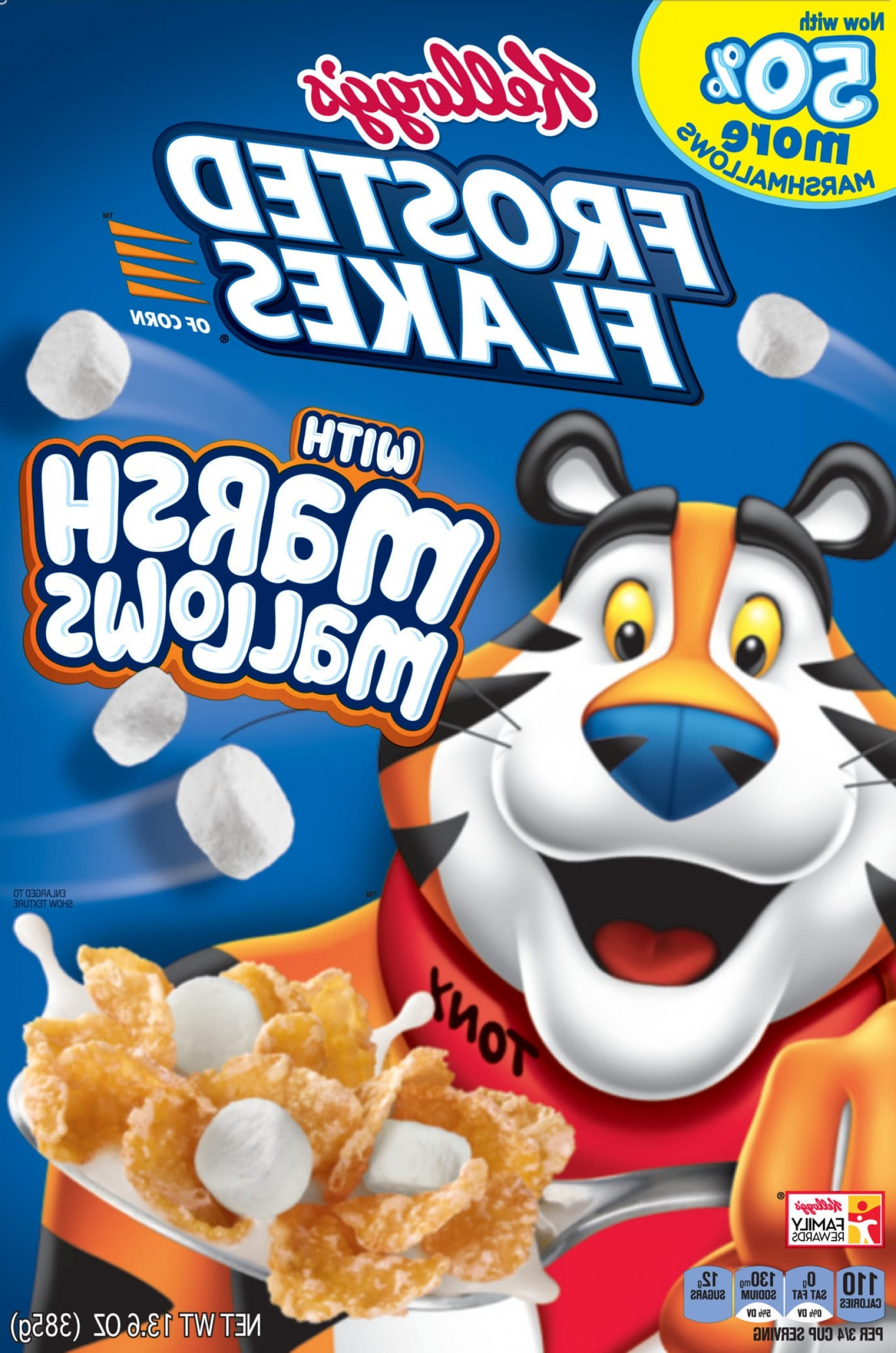 Nutrition Label Kellogg's Vector: Kellogg S Frosted Flakes Consumer Brand