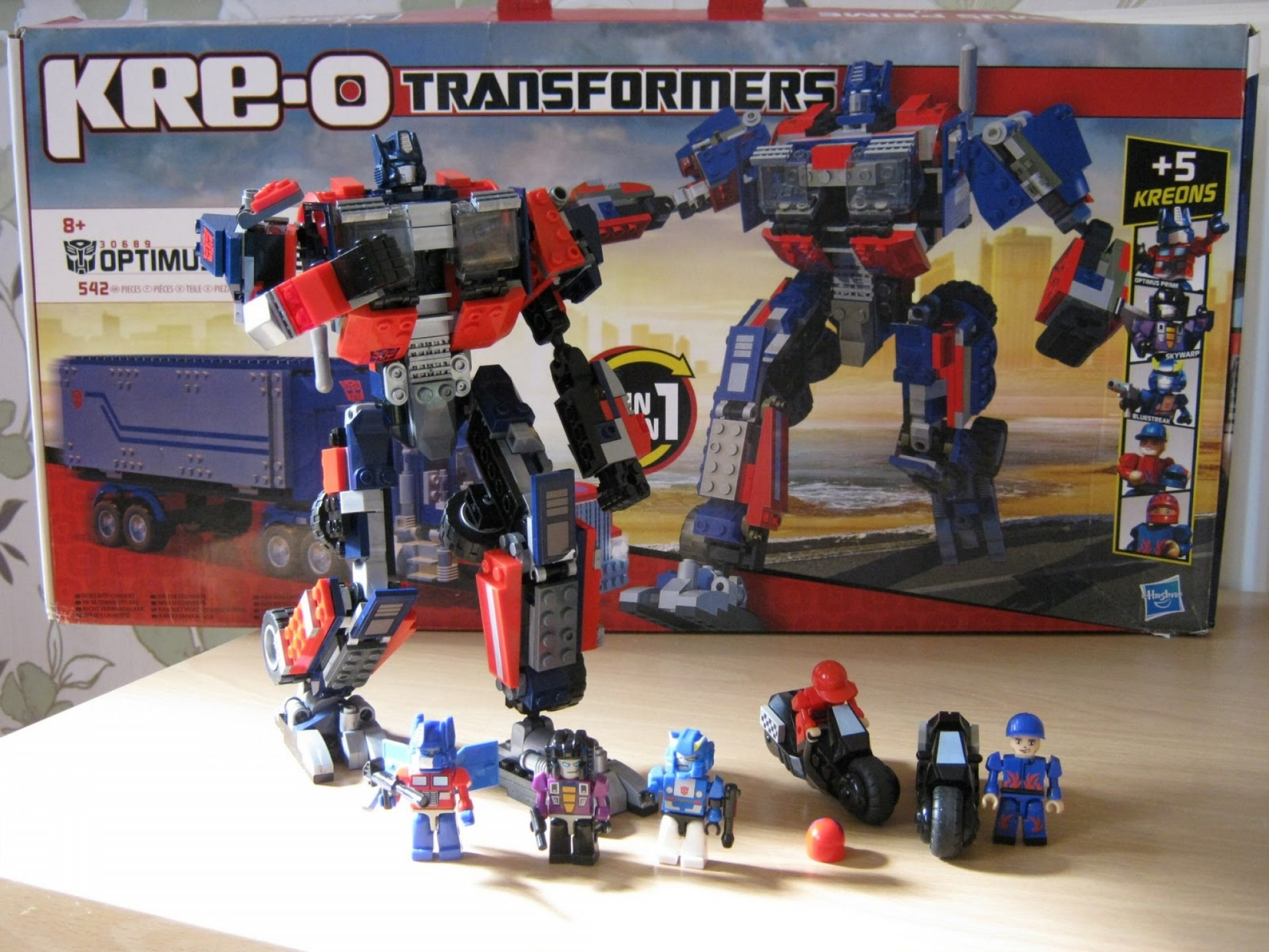 KRE-O Transformers Vector Prime: Kre O Oh So Much Fun