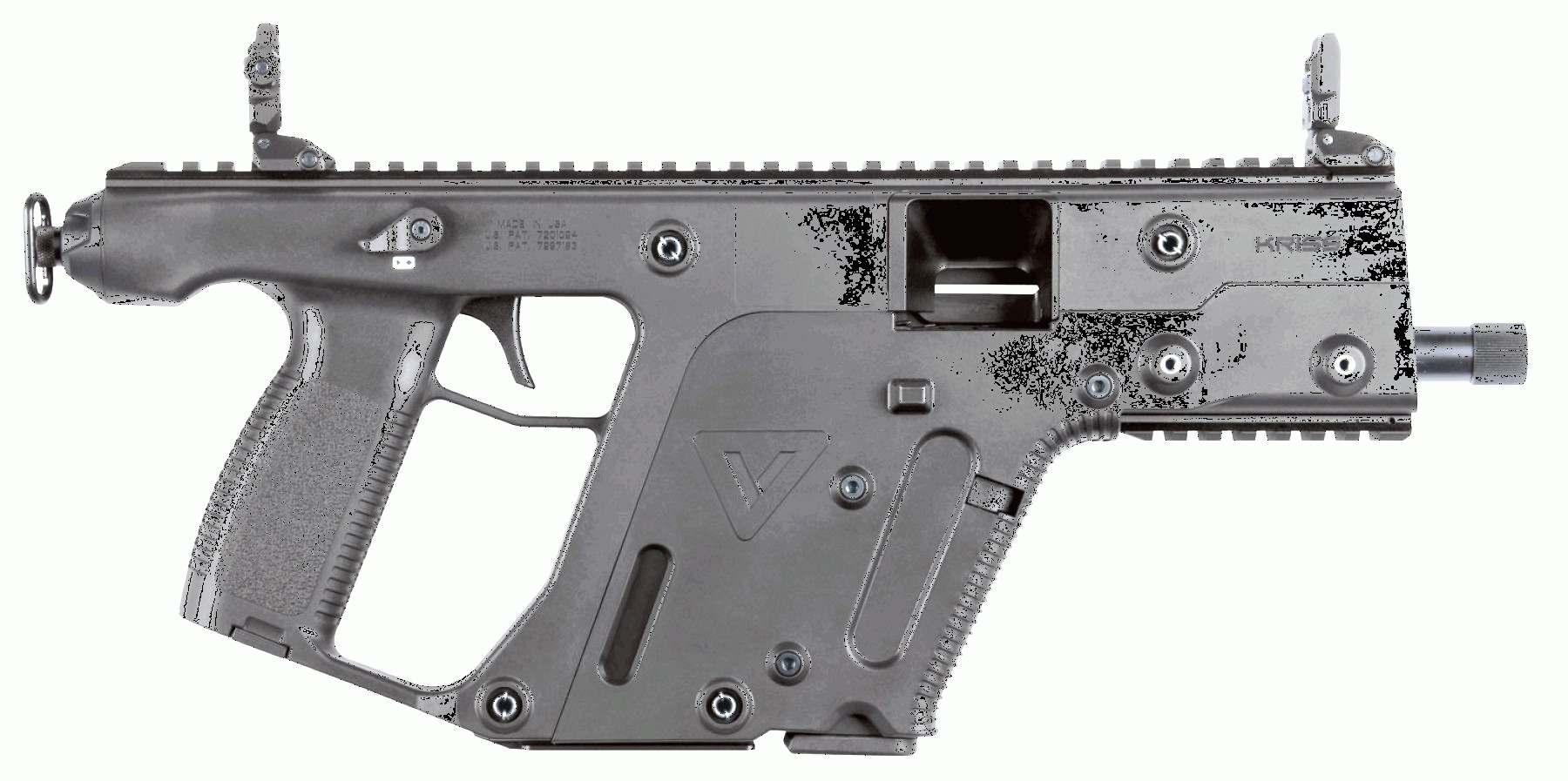 Kriss Vector Gen 1 Rail: Kriss Usa Kvpbl Vector Gen Ii Pistol Semi Automatic Mm