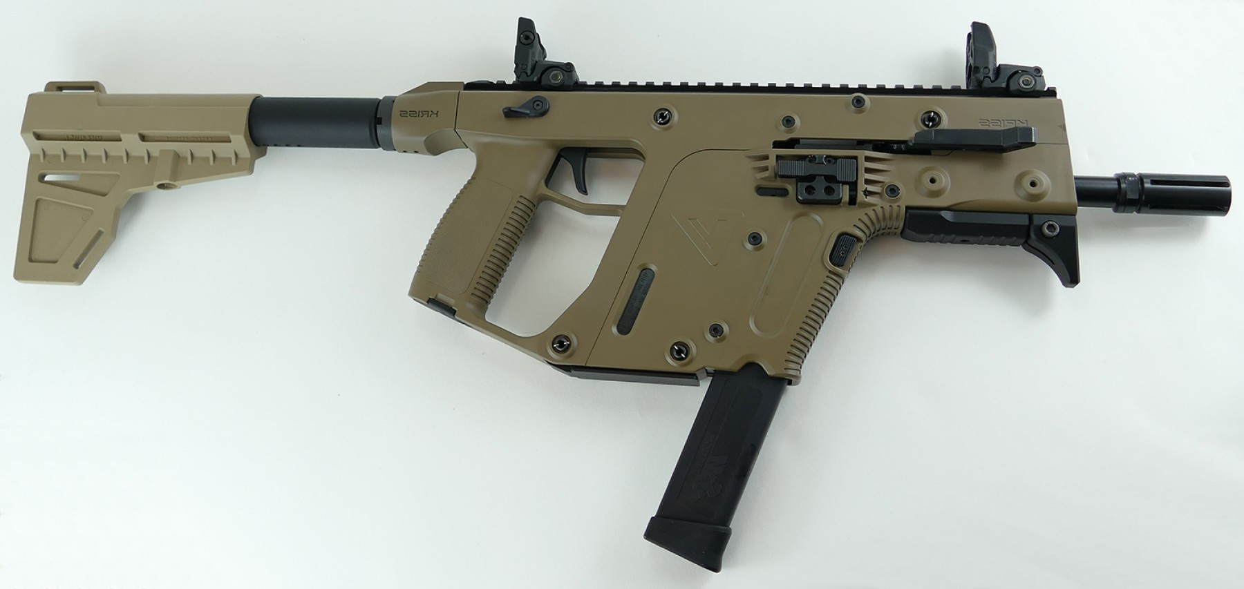 Kriss Vector Handgun: Kriss Vector Gen Ii Acp Pistol Fde With Shockwave Like New Used