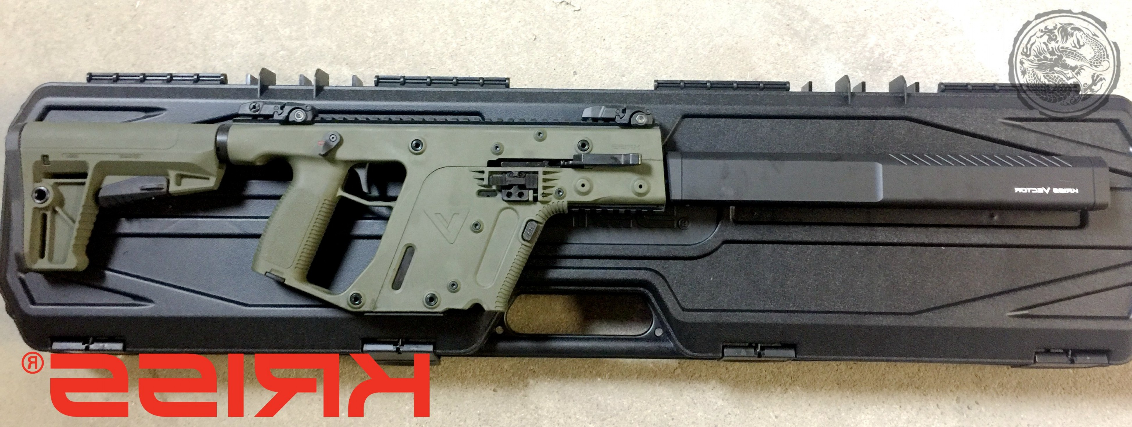 Vector Kriss Scope: Kriss Vector Gen Ii Crb Enhanced Semi Auto Rifle Barrel Od Green Mm