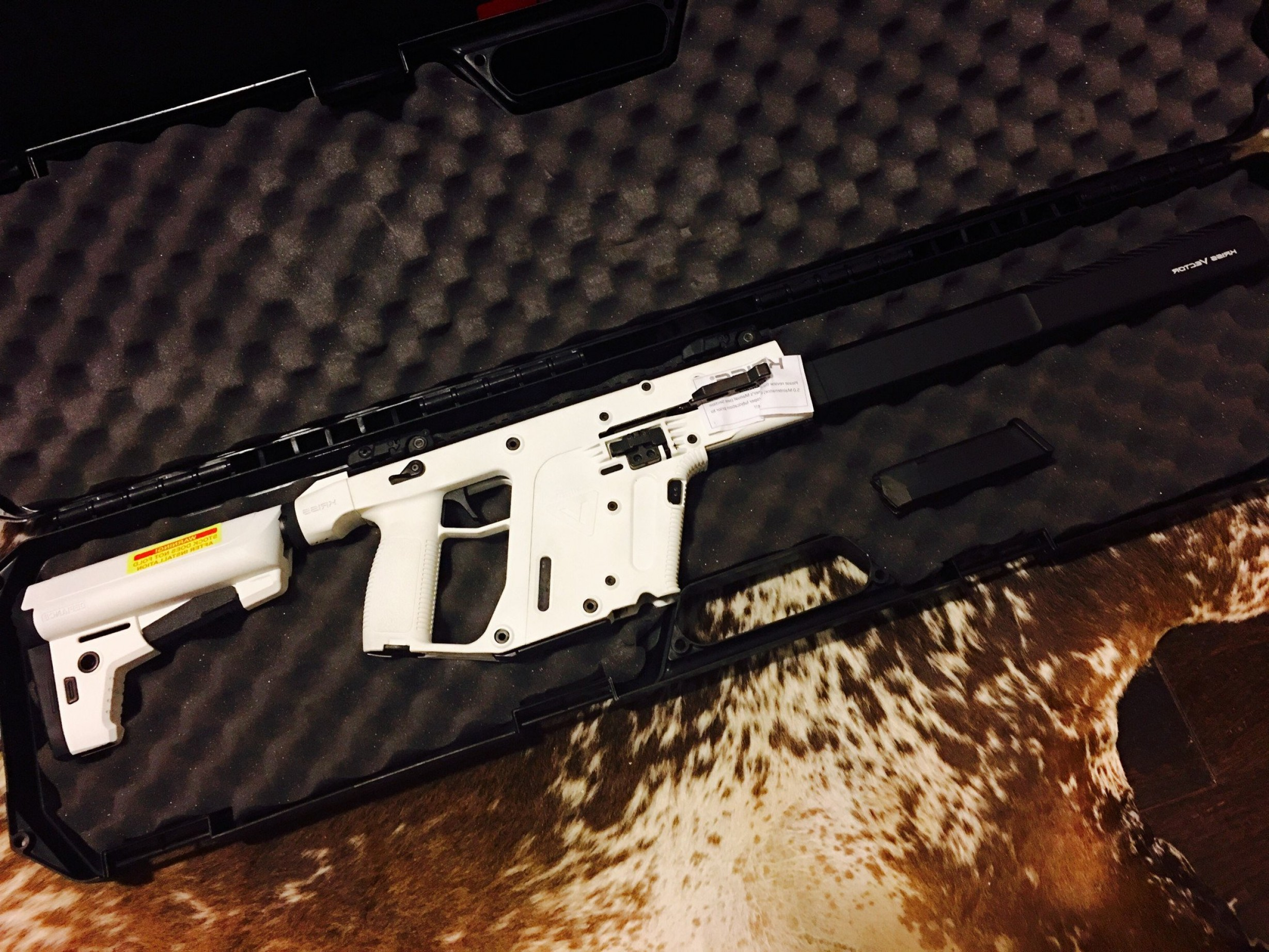 Kriss Vector 45ACP Carbine: Kriss Vector Gen Ii Crb In Mm And Acp And Mm Non Restrictedp