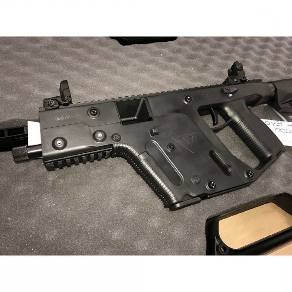 Kriss Vector 45ACP Carbine: Kriss Vector Gen Ii Sbr Semi Auto Rifle Acp Barrel M Stock Black Restricted