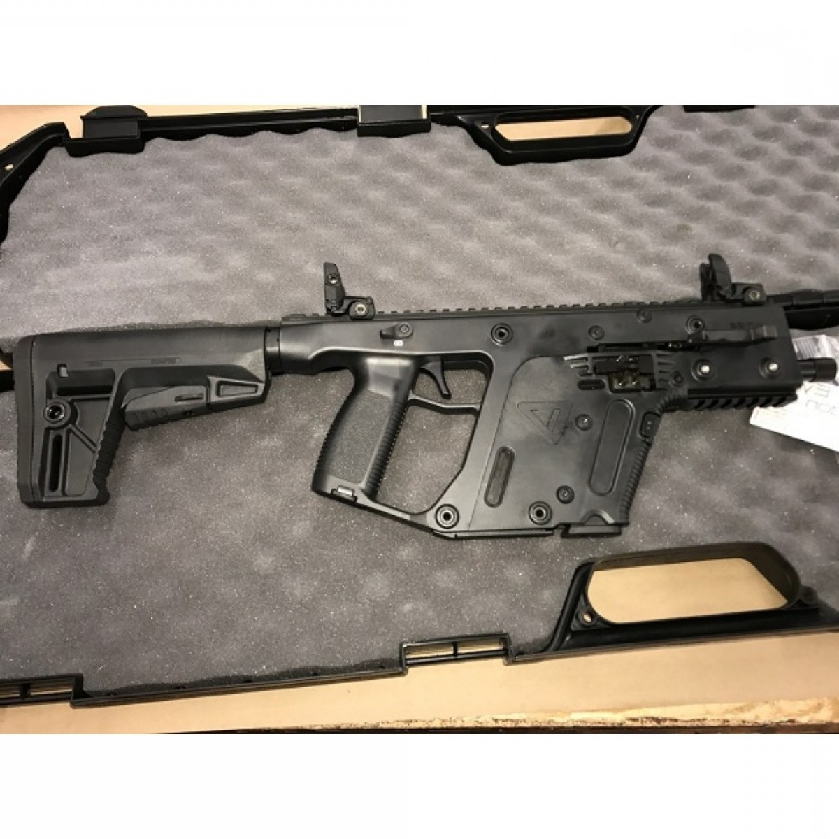 Kriss Vector Specs: Kriss Vector Gen Ii Sbr Semi Auto Rifle Mm Barrel M Stock Black Restricted
