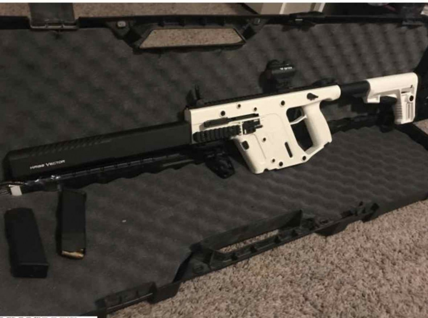 Kriss Vector Pistol Genii: Kriss Vector Gen Mm Alpine White Like New