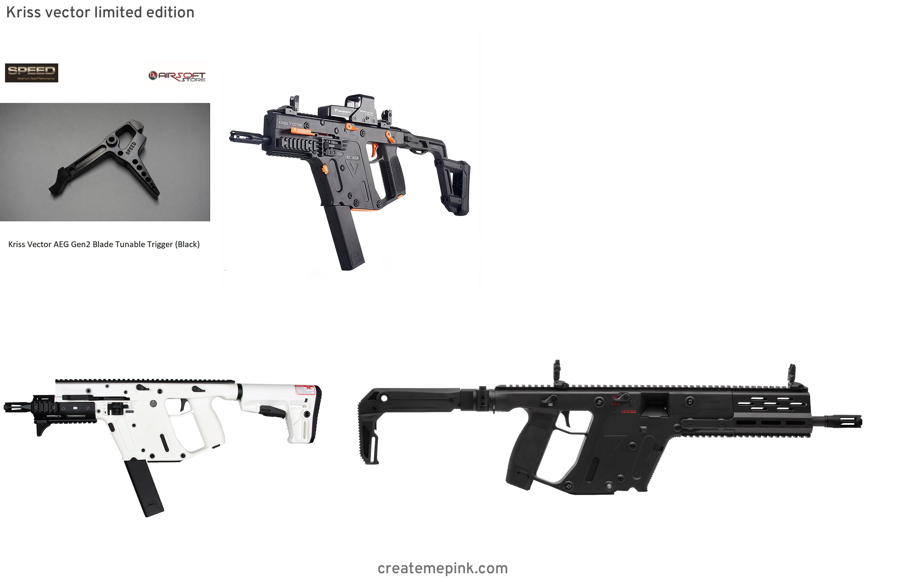 Kriss Vector Trigger Upgrade: Kriss Vector Limited Edition