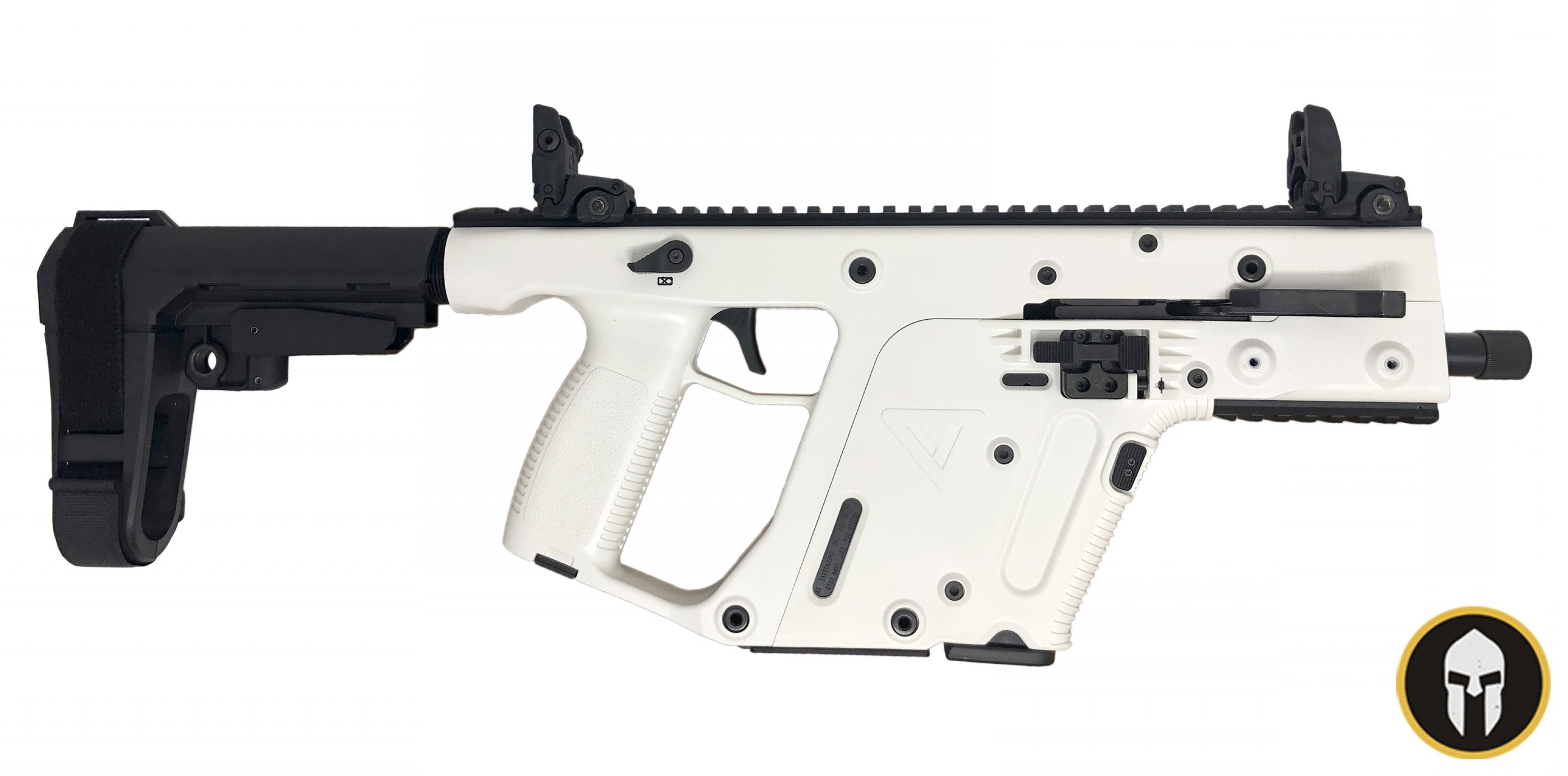 Kriss Vector Alpine: Kriss Vector Sdp Gen Ii Alpine White With Sb Tactical Sba Brace