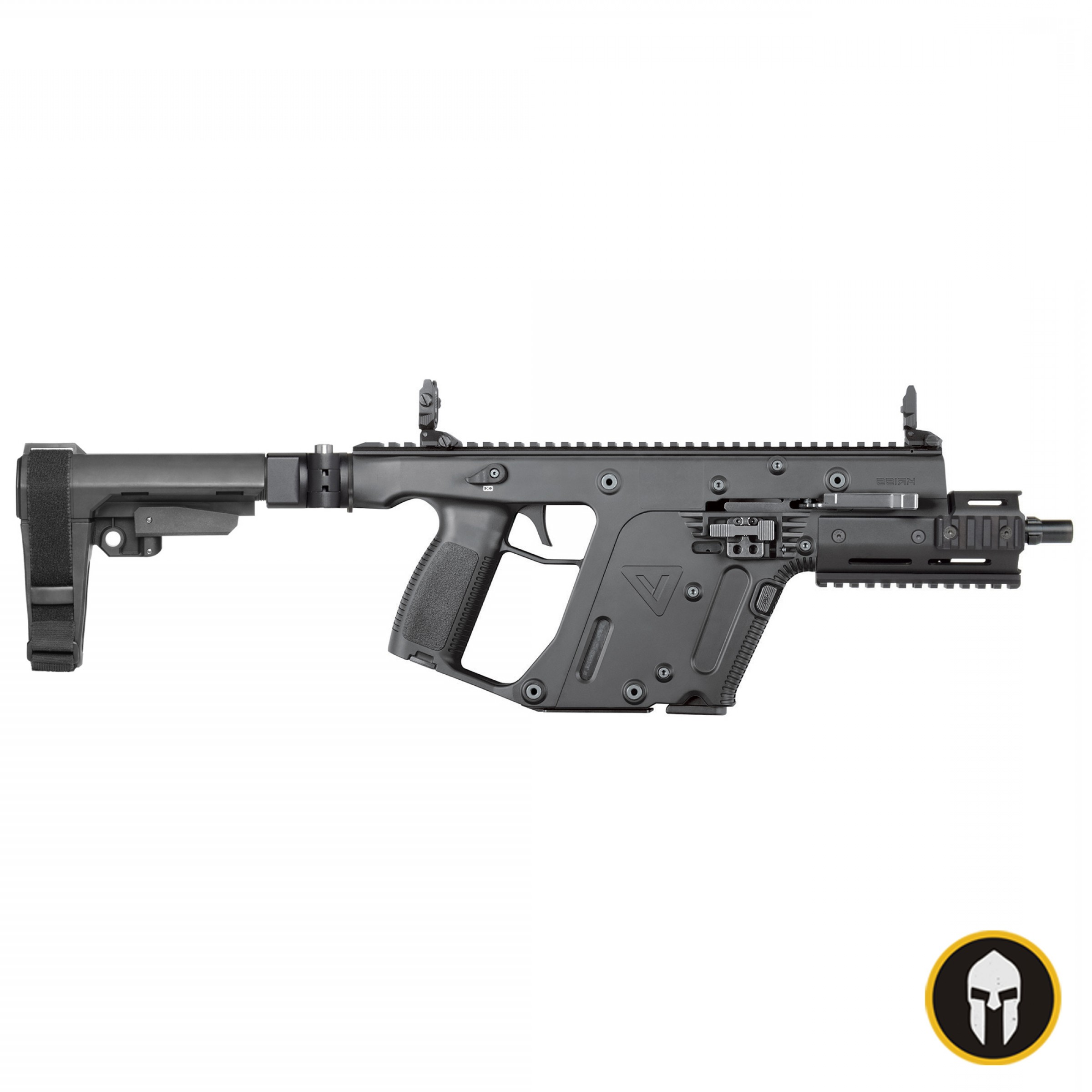 Tactical Vector: Kriss Vector Sdp Gen Ii Black Sb Tactical Sba Pistol Brace