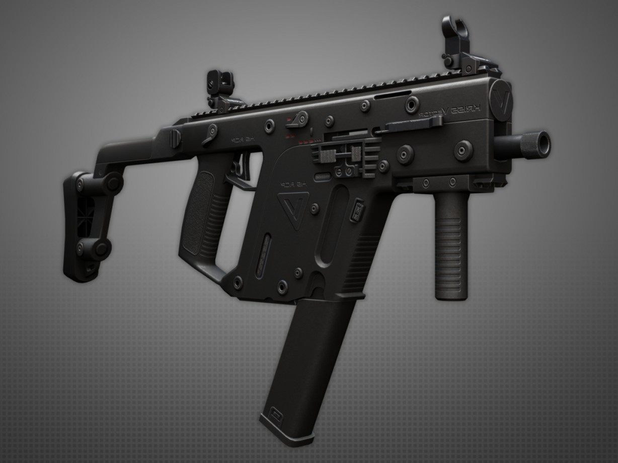 Kriss Vector SMG With Under Barrel: Kriss Vector Smg Acp