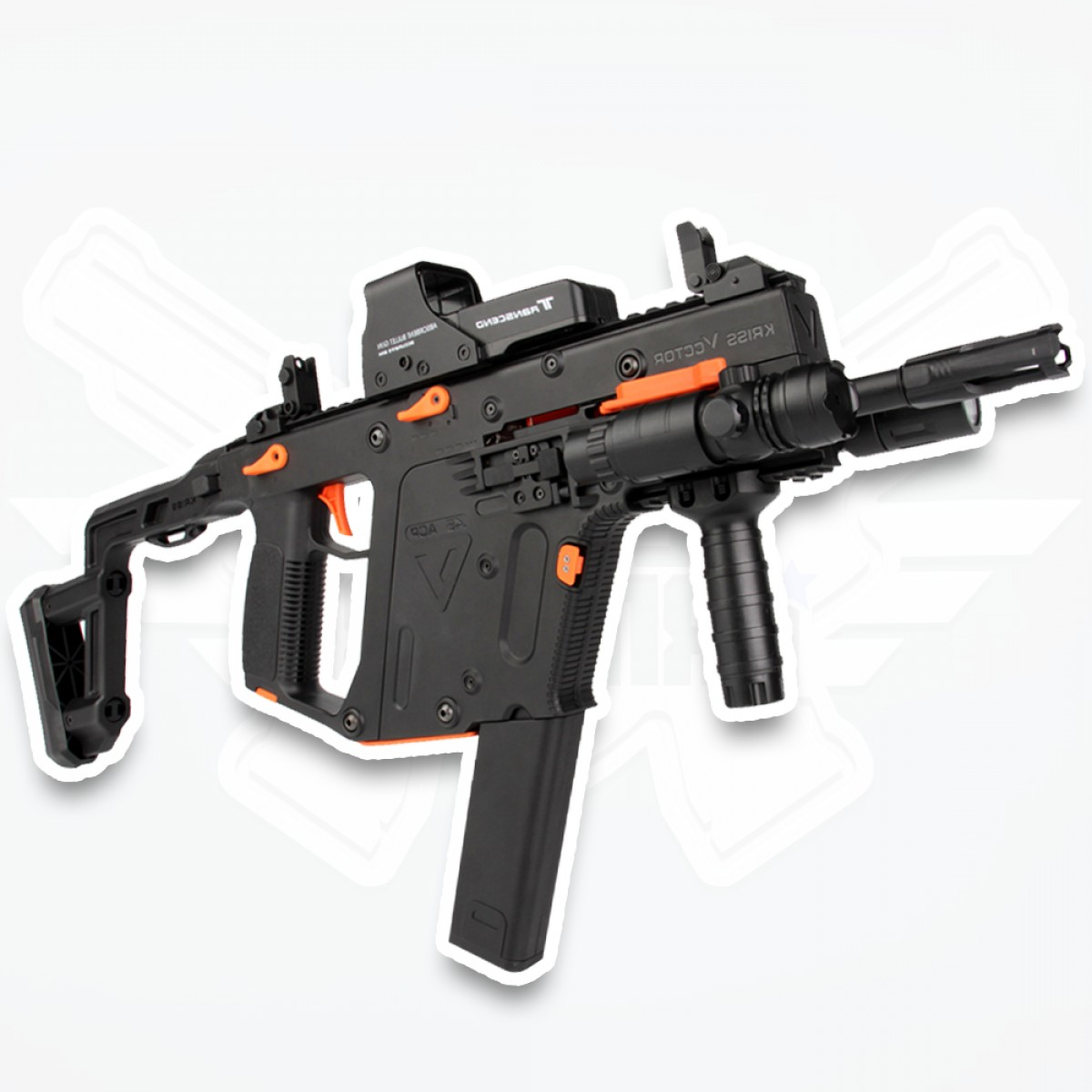 Vector Kriss Scope: Kriss Vector V Gel Ball Blaster