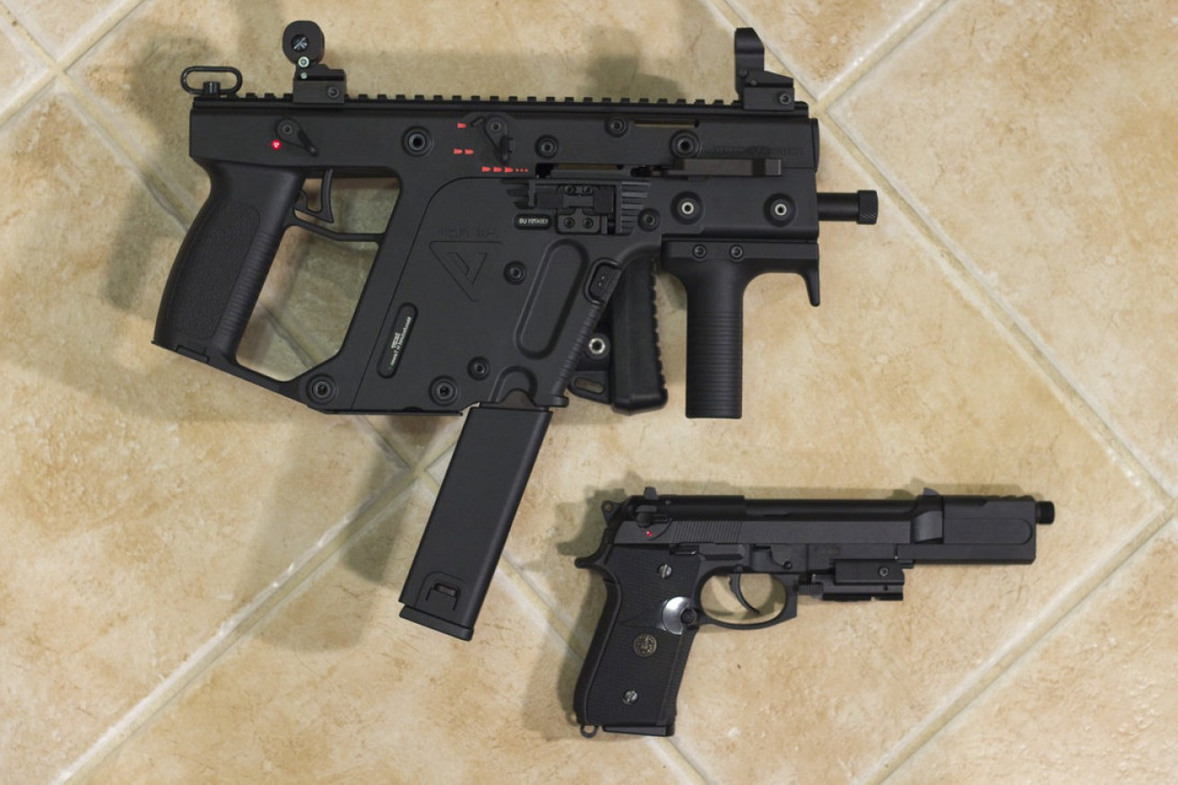 Kriss Vector Handgun: Kriss Vector W Beretta M