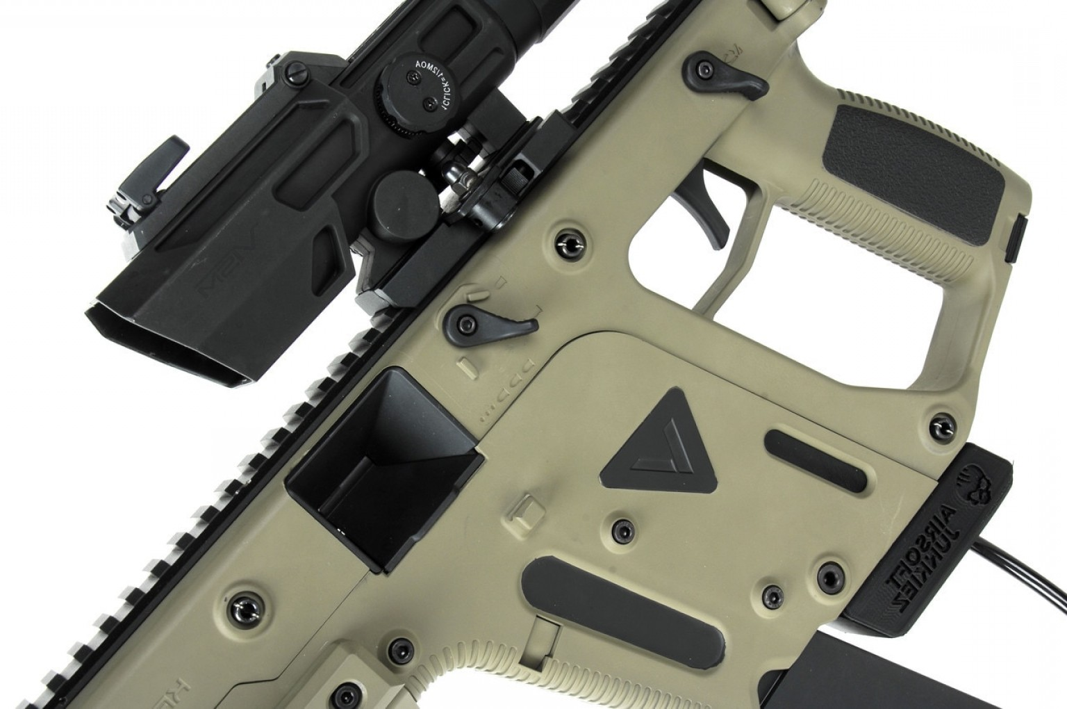 Painted Kriss Vector: Kriss Vector With Polarstar F Cerkote Tan