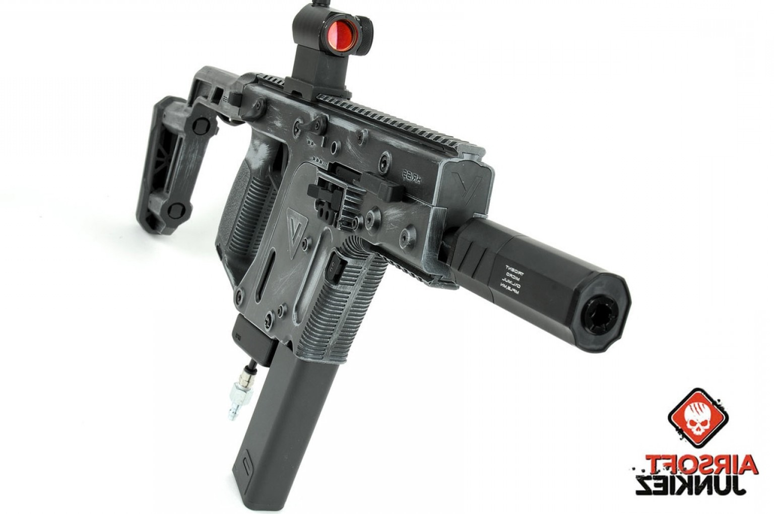 Kriss Vector SMG With Under Barrel: Kriss Vector With Polarstar F Cerkote Worn