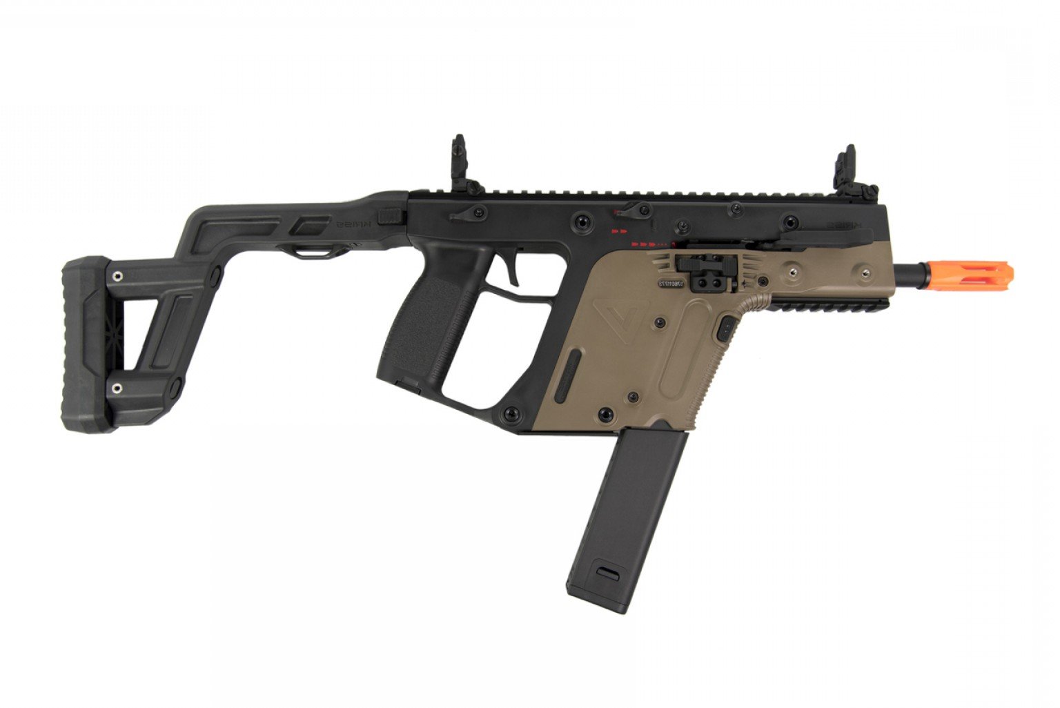 New Kriss Vector: Krytac Kriss Usa Licensed Kriss Vector Aeg Smg Two Tone
