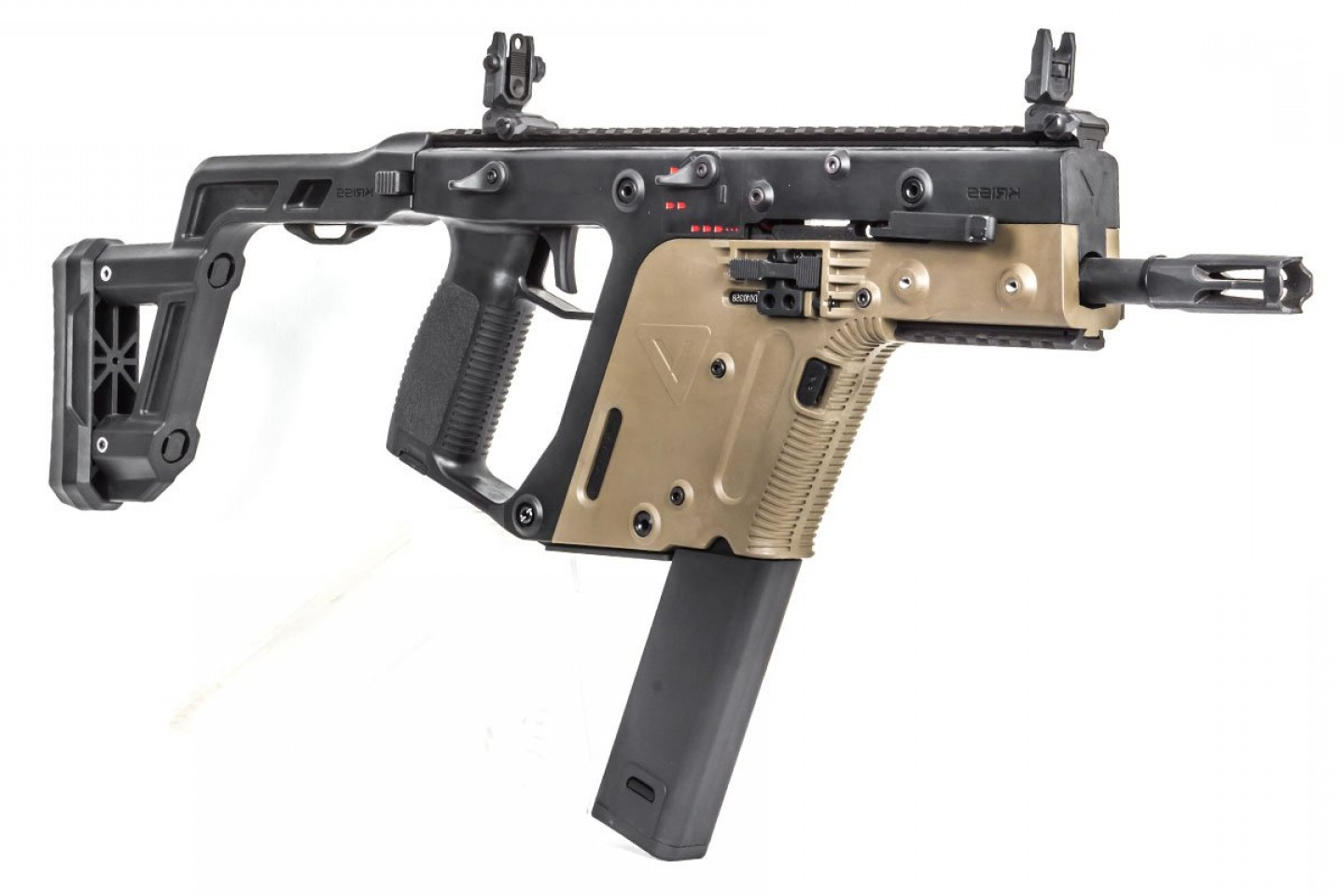 Custom Kriss Vector Airsoft Firing: Krytac Kriss Vector Aeg Airsoft Smg Option