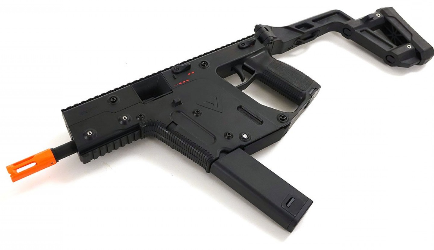 Painted Kriss Vector: Krytac Kriss Vector Aeg Black Fps Model