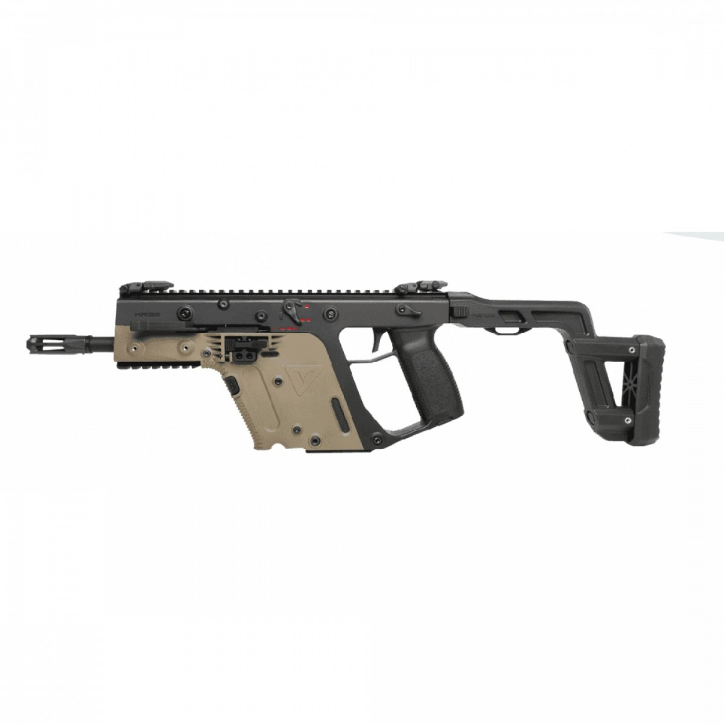 Airsoft KWA KRISS Vector: Krytac Kriss Vector Aeg Black Tan P