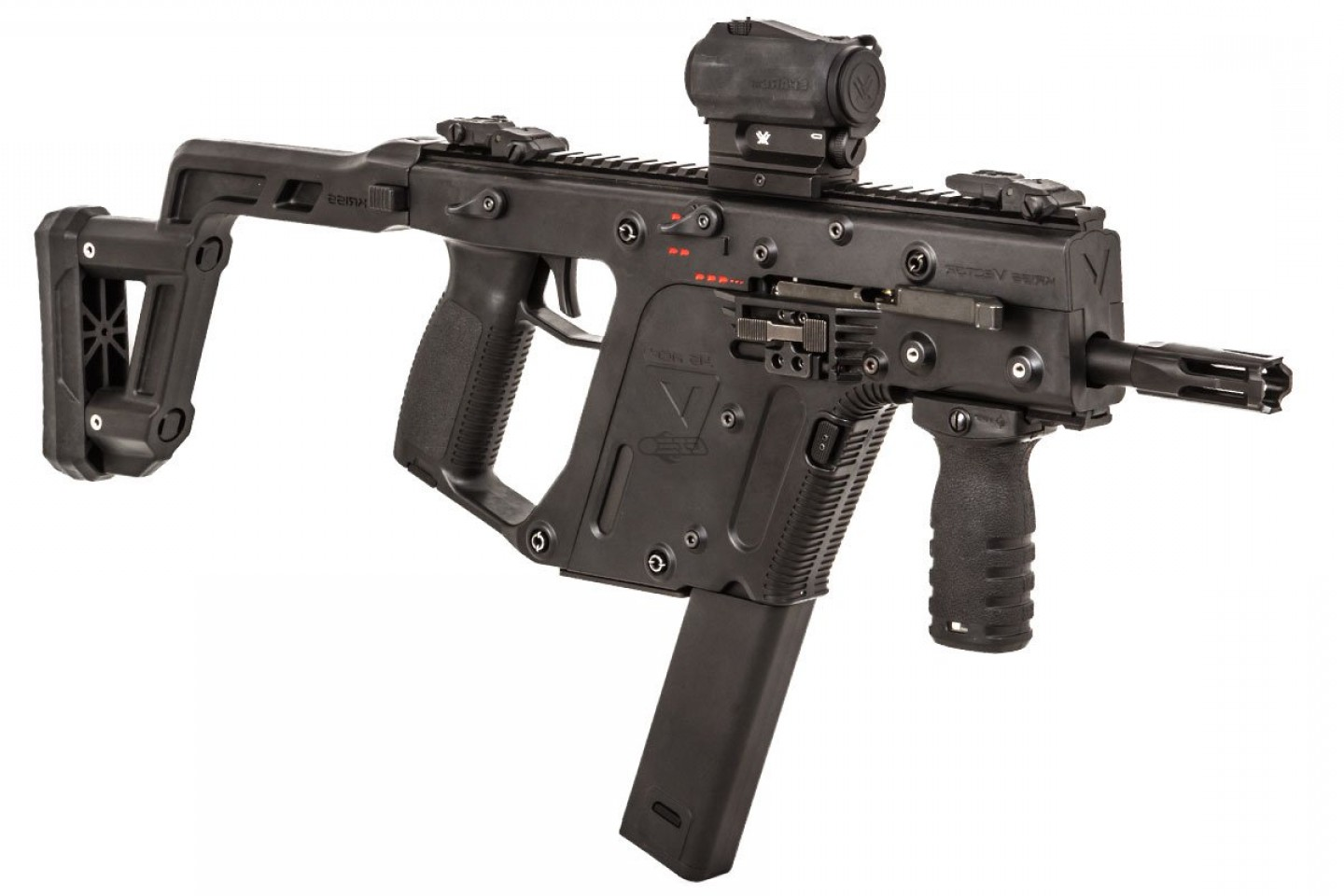Kriss Vector AR-15 Stock Adapter: Krytac Kriss Vector Smg Aeg Airsoft Gun Black Choose An Option