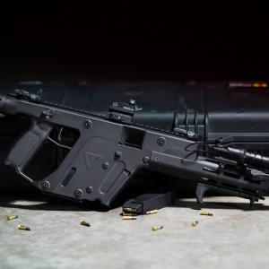 10Mm Kriss Vector Carbine: Kriss Vector Chambered In Long Rifle For